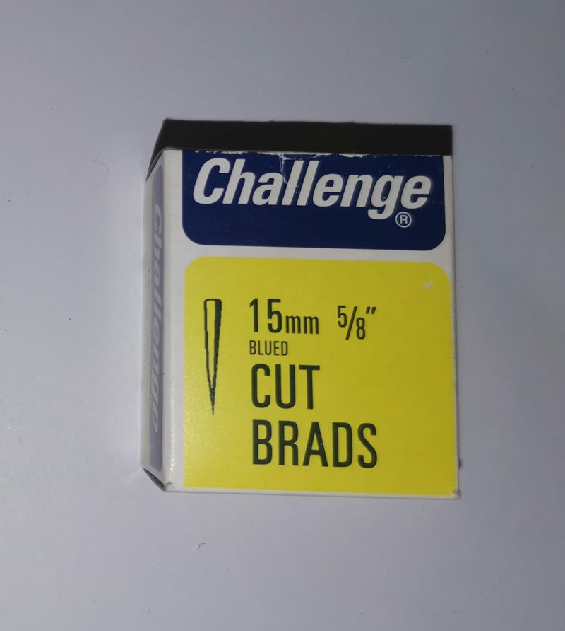 "Cut Brads / Clasp Nails - 15mm (5/8"") - 40g pack"