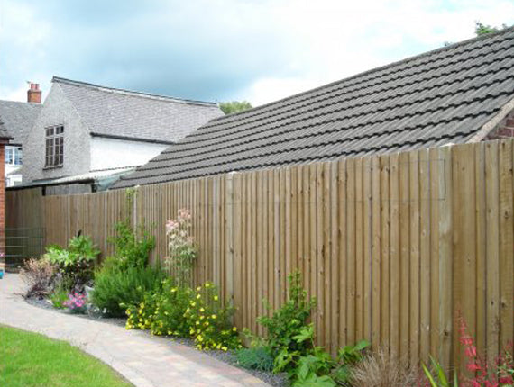 Feather Edged Fence Boards - 1.8 m & 2.4 m (LOCAL PICKUP / DELIVERY ONLY)