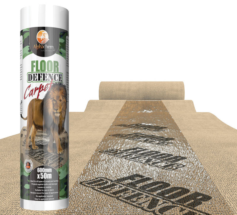 Alphachem - Floor Defence Contractors Carpet Protector 600 mm x 25 m