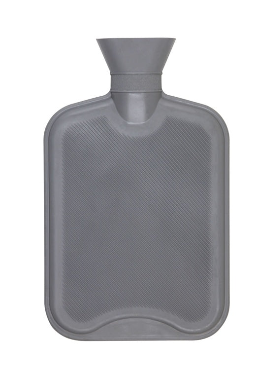 Hot Water Bottle - 2 litres - Grey, Red or White