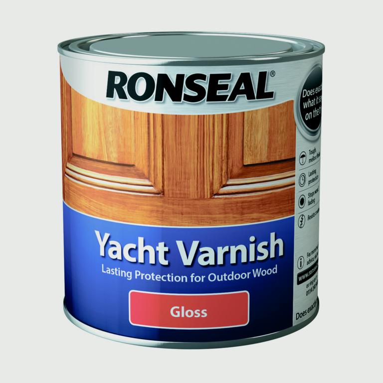 Ronseal - Yacht Varnish -  250 ml, 500 ml & 1 l - Gloss finish