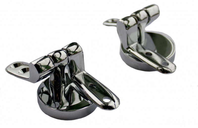 Chrome Toilet Seat Hinges