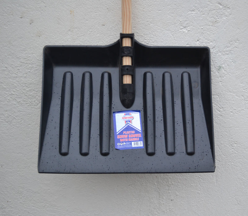"Faithfull Quality Tools - Plastic Snow Shovel - 420mm / 16.5"" x 300 mm / 12"" (LOCAL PICKUP / DELIVERY ONLY)"