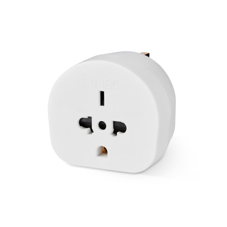 Securlec Travel Adaptor for Visitors to the UK