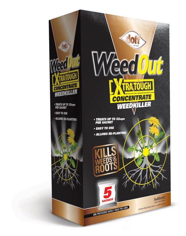 Doff WeedOut Extra Tough Weedkiller Concentrate