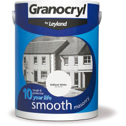 Brilliant White Masonry Paint - 2.5 litres