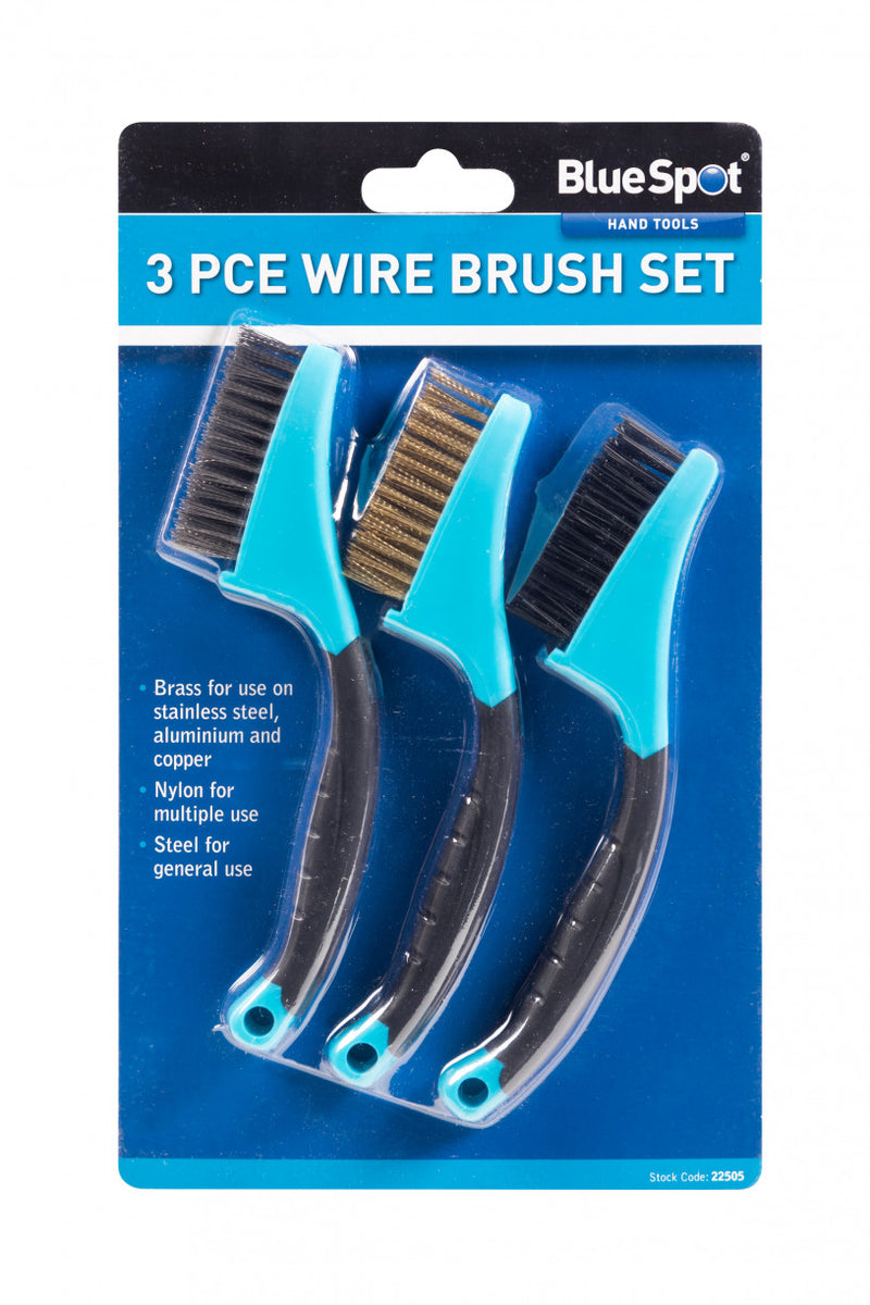 Wire Brush - 3 piece set