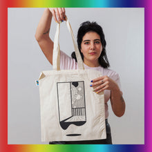 Load image into Gallery viewer, Klaus Johann Grobe Totebag - Discogedanken