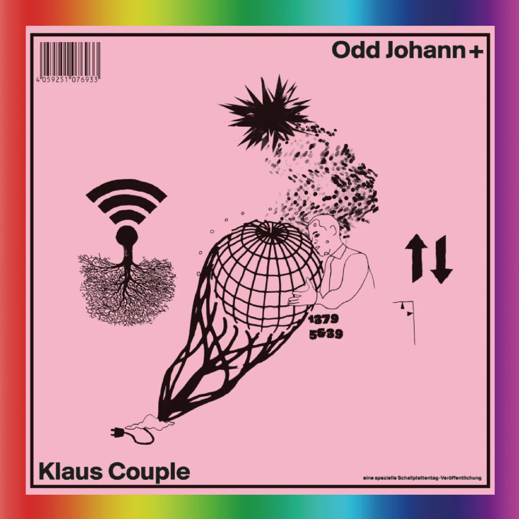 Odd Johann + Klaus Couple - Split (LP)