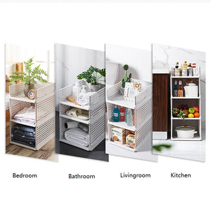 School Dormitory Adjustable Wardrobe Rack Drawer Type Clothes Storage Box Bedroom Cabinet Interlayer Wardrobe Storage Rack