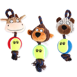 New Pets Vent Molars Toy Dog Vocal Plush Toys