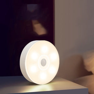 Intelligent Human Body Induction Lamp LED Night Lights Corridor Home Wireless Bedroom Bedside Lamp Charging Aisle Wardrobe Light