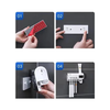 Smart UV Toothbrush Sterilizer Holder Multifunctional Bathroom Wall-mounted Tooth Rack Sterilization White