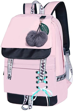 Backpack for Girls Kids Bookbag Elementary Middle School Womens College