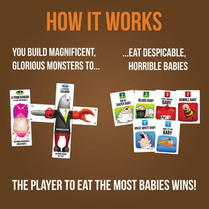 Bears vs Babies A Monster-Building Card Game  Family-Friendly Party Games - Card Games For Adults Teens & Kids