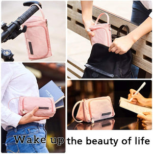 Large Capacity Pencil Pen Case Bag Pouch Holder Multi-slot School Supplies