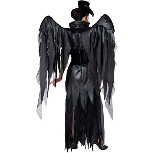 Beak Doctor Black Costume Halloween Cos Prop for Women