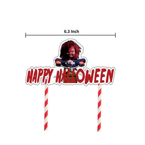 Child's Play Halloween Party Decoration Banner Balloons Kit