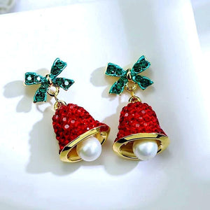 Christmas Bell Earrings Jingle Bell Earrings