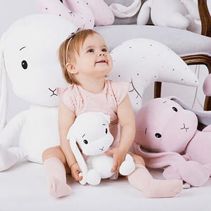 Cute Rabbit Plush Toys for Kids Baby Plush Doll Infant Toys Stuffed Soft Lucky Doll Plush Toys