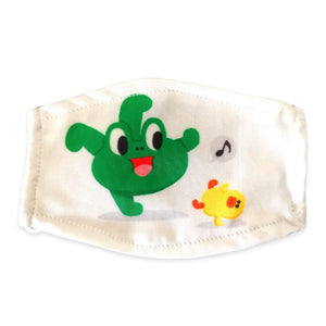Dinosaur Frog Face Cover Washable & Anti-smog 6 Pcs for Adult Kids