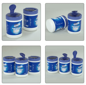 Disposable barrel wipes sterilization 100 alcohol wipes,Eliminate viruses, sterilize and protect health