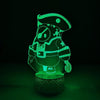 Fall Guys Vision Light Lamp Touch Color Changing Night Light LED for Room