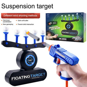 Floating Target Airshot Game Foam Dart Blaster Shooting Ball Toy Kids Gift