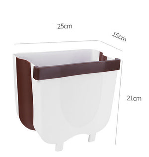 Folding Wall Mounted Trash Bin
