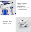 Portable Mini Electric Iron, Hanging Ironing Machine, Three-speed steam, Foldable Handle, for Wet and Dry Use