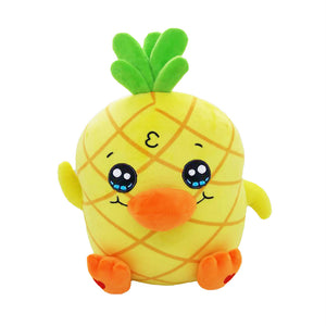 Georgie Duck Plushie Pineapple Duck Stuffed Animal Plush Toy Holiday Gifts