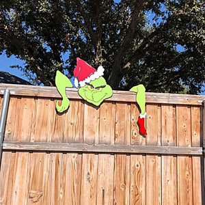 The Grinch Christmas Ornaments for Garden Christmas Tree Pendant Wall Decoration