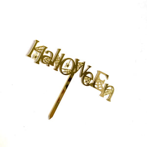 Halloween Cake Card Cake Picks Sticks Decorations Toppers 12 Pcs