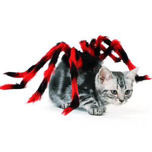 Halloween Pet Spider Cosplay Props For Dog Cat