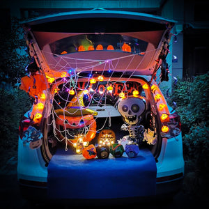 Halloween Tricky Trunk or Treat Trunk Decorations Kit