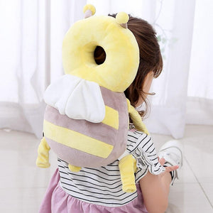 Head Protection Cushion for Baby Toddlers Adjustable Safety Backpack Anti-fall Anti-collision Stuffed Animals Pillow