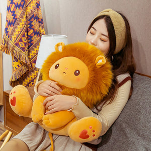 Lion Plush Toy Plushie Gifts Doll for Halloween