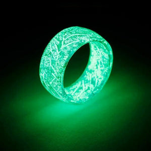 Luminous Glow Ring Glowing In The Dark Jewelry Rings For Women