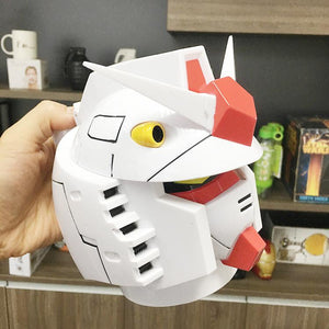 MOBILE SUIT GUNDAM Student Cup Cartoon Shape Stainless Steel Liner Creative Cup