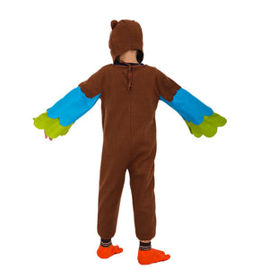 Owl Jumpsuit Halloween Costume Kids Gift