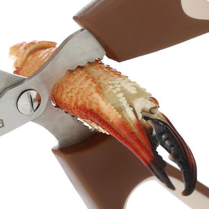 Remove Shrimp Line Cutting Scissors Crab Clamp Scissors Kitchen Tool