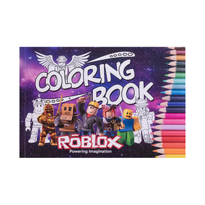 Roblox Coloring Book For Kids Roblox Activity Books Kids Holiday Gifts Suitable for Kids Over 3 Years Old