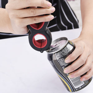 Six-in-one for Can Opener Multifunctional Simple and Durable Kitchen Gadgets