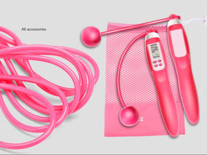 Smart Counting Skipping Rope, Record The Consumption of Calories, Corded and Cordless