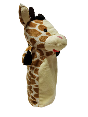 Soft Toy Plush Hand Puppet Forest Animal Parent-Child Bed Story Glove Puppet