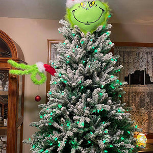 The Grinch Arm Head Ornament Holder Decor for The Christmas Tree
