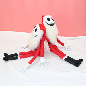 The Nightmare Before Christmas Santa Jack Plush Doll Christmas Plushie Gifts Toy