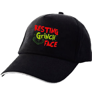 The Grinch Sun Hat Adjustable Peaked Cap Baseball Cap