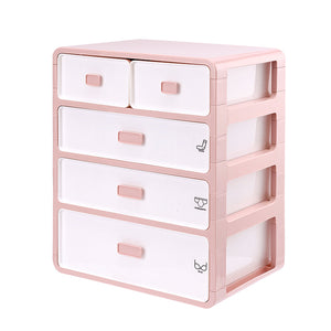 Underwear and Socks Drawer Storage Box with Small Grids for Wardrobe