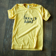 Load image into Gallery viewer, Bee Kind Script T-Shirt